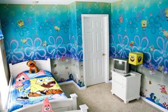 contoh desain wallpaper dinding kamar tidur bagus (6)
