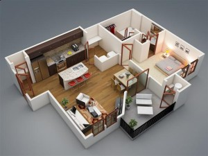 One-bedroom-with-balcony (Small)