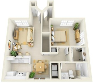 Paragon-Apartment-1-Bedroom-Plan (Small)