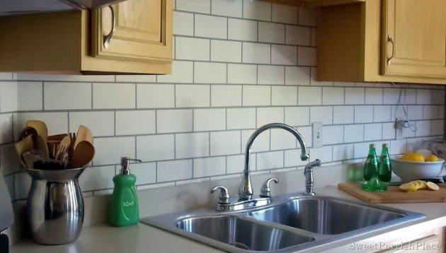 bata putih dapur