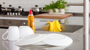 dapur yang bersih