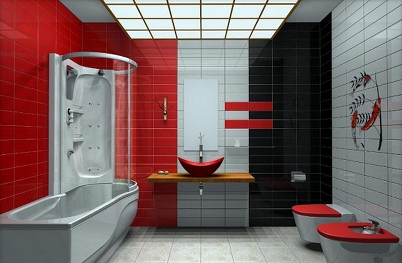 7 Ide Desain Interior Rumah Nuansa Warna Merah