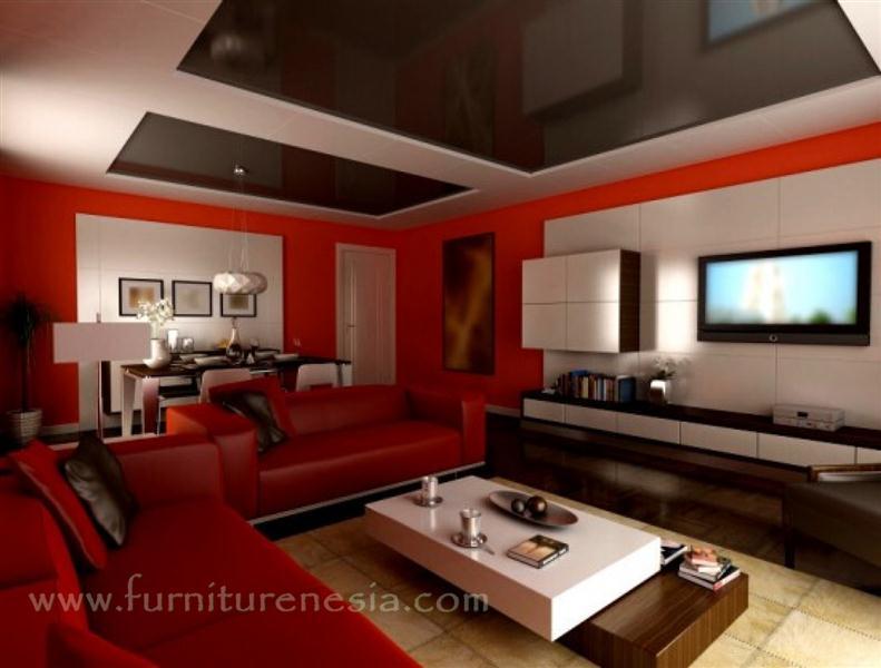 Desain-Warna-Cat-Tembok-Ruang-Tamu-Dengan-2-Warna-Berbeda-Merah-dan-Putih (Medium)