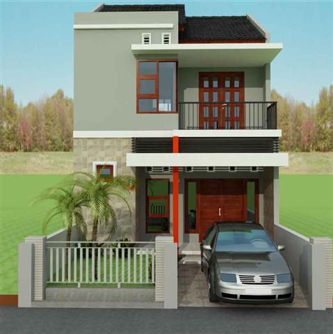 Gambar Desain rumah minimalis 2 lantai modern Mewah dan Elegan h (Small)