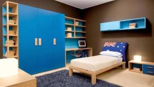 kamar tidur anak warna biru (Medium)