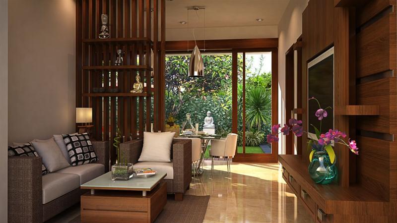 ruang tamu modern sederhana