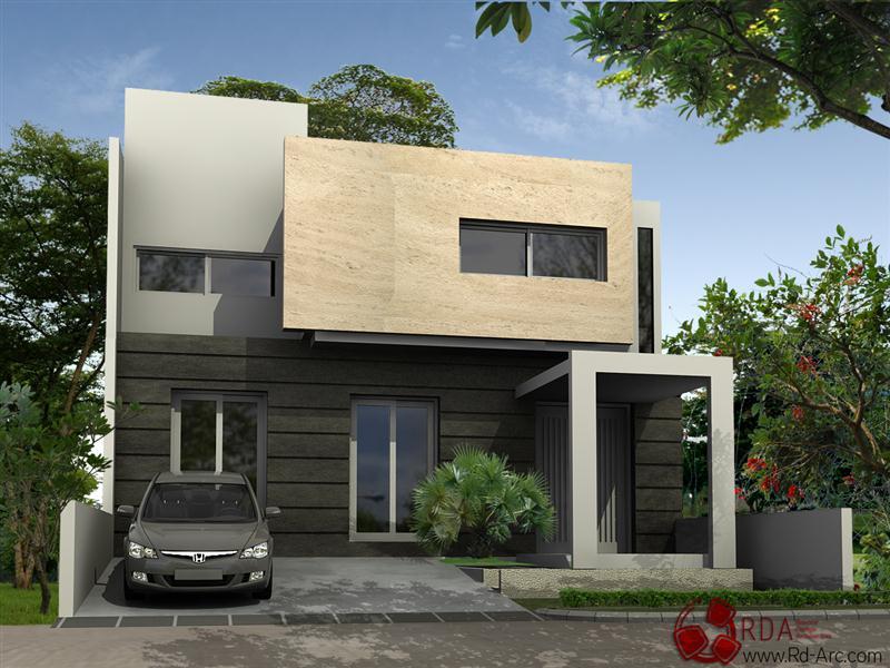 rumah modern di indonesia (Medium)