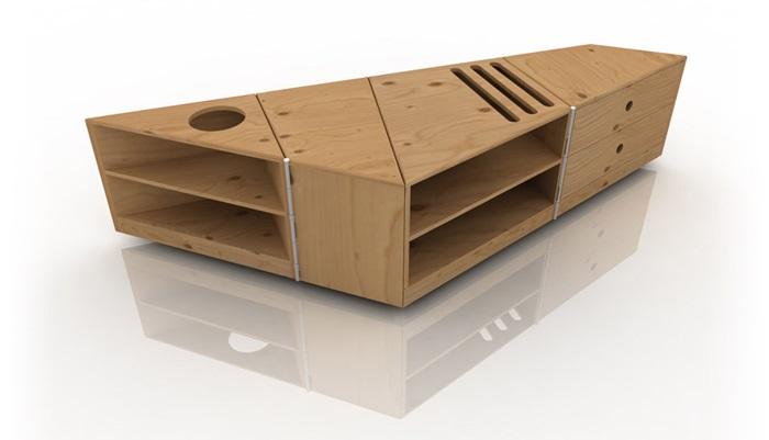 D-Table meja minimalis untuk ruang tamu miltifungsi