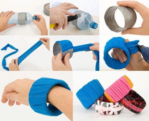 gelang lucu dari botol plastik - IDEPROPERTI.COM
