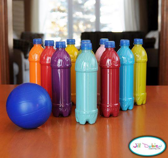 mainan bowling dari botol plastik- IDEPROPERTI.COM