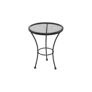 meja kecil bulat tiga kaki