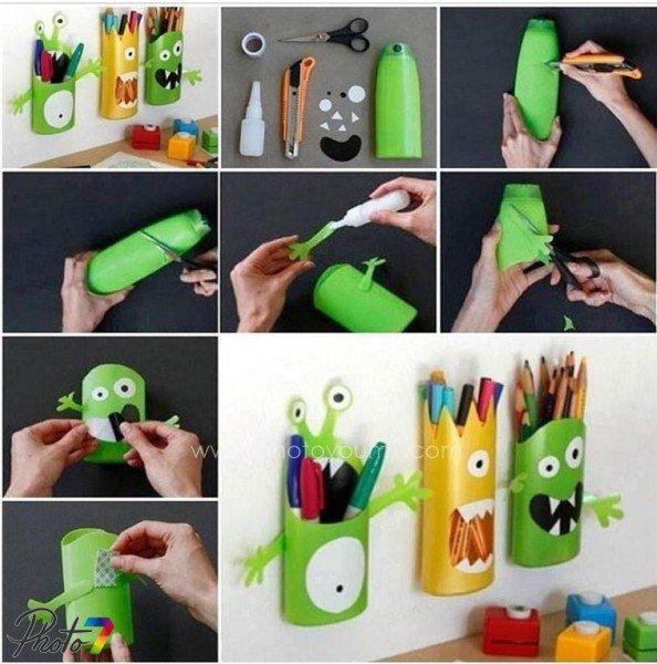 tempat pensil dari botol plastik- IDEPROPERTI.COM 1c1092ed9f