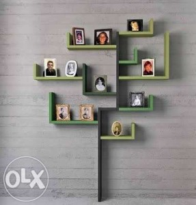 hiasan dinding kamar tidur bingkai foto pohon